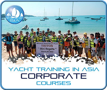 Yacht Training Asia - Corporate Services