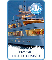 Basic Superyacht Deckhand Training